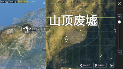绝地求生刺激战场海岛地图最佳打野点绝地求生山顶废墟打法攻略