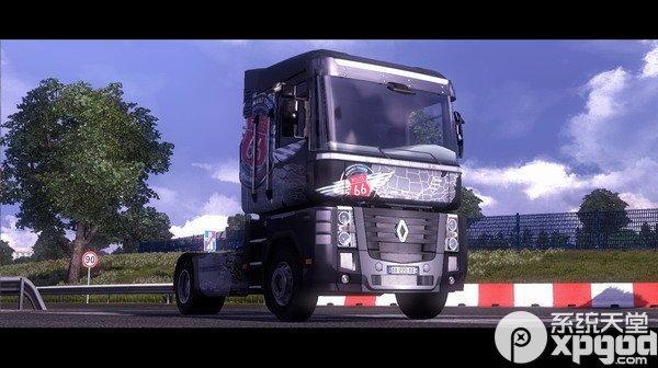 欧洲卡车模拟2中文版附mod1