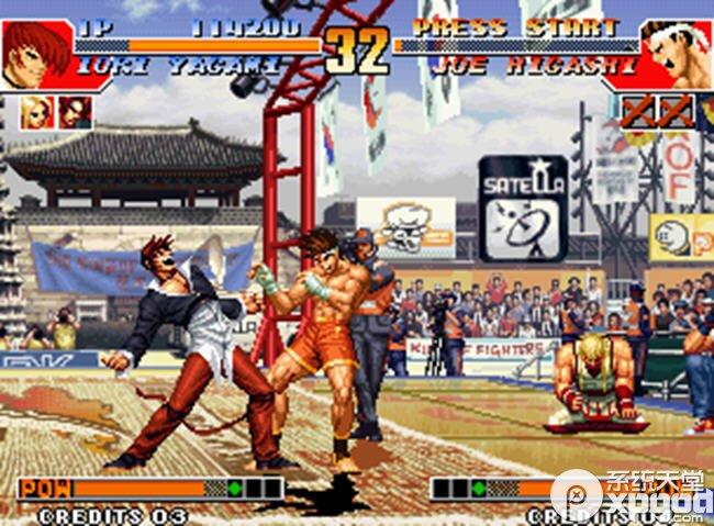 拳皇97无限能量版中文版1